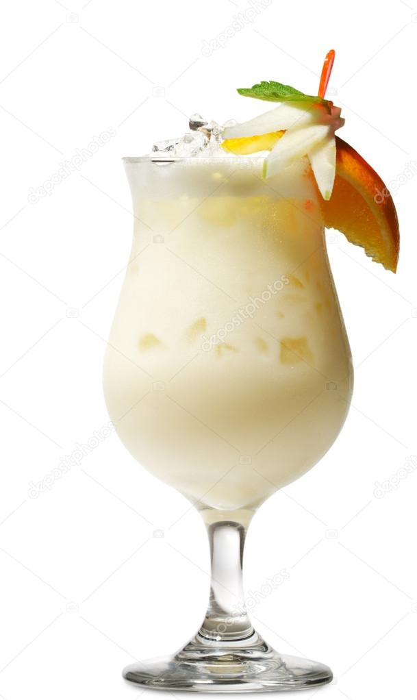 Pina colada cocktail  Cocktail - Pina Colada — Stockfoto © ryzhkov86 #12505552