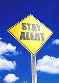 Photo Stay alert