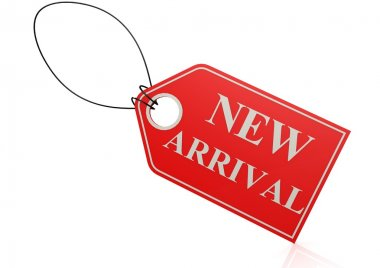 New arrival label