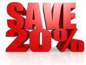 Photo Save 20 percent
