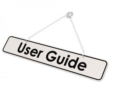 User guide banner