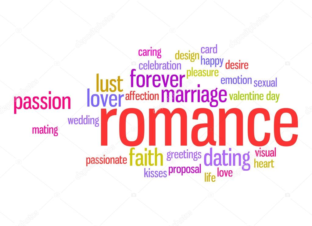 romance word cloud stock photo tang90246 42461555