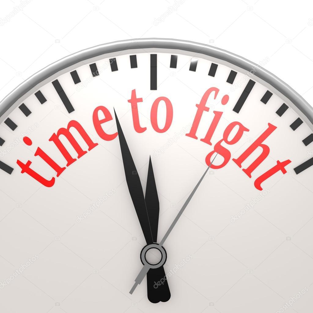 7ce76d5441d hora de lutar contra o relógio — Fotografias de Stock © tang90246 ...