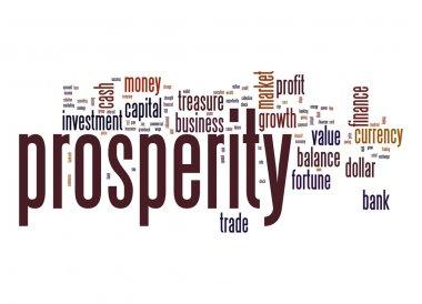 Prosperity word cloud