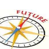 kompas s budoucí slovo