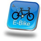 Fotografie e-Bike-Schaltfläche