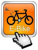 Fotografie e-Bike-Taste mit cursor