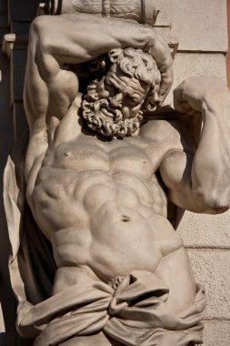 Atlante statue - bologna