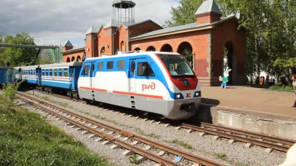 děti železnice