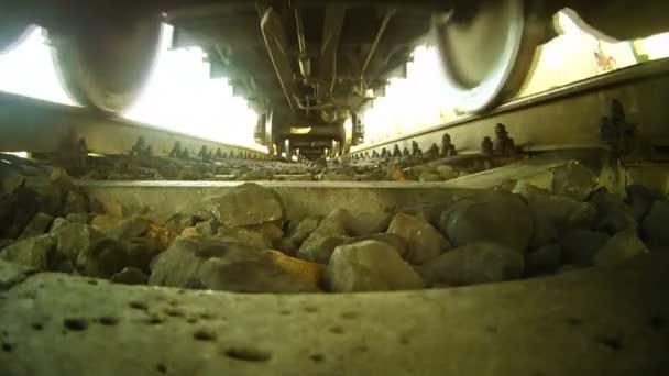 kola na železniční trať