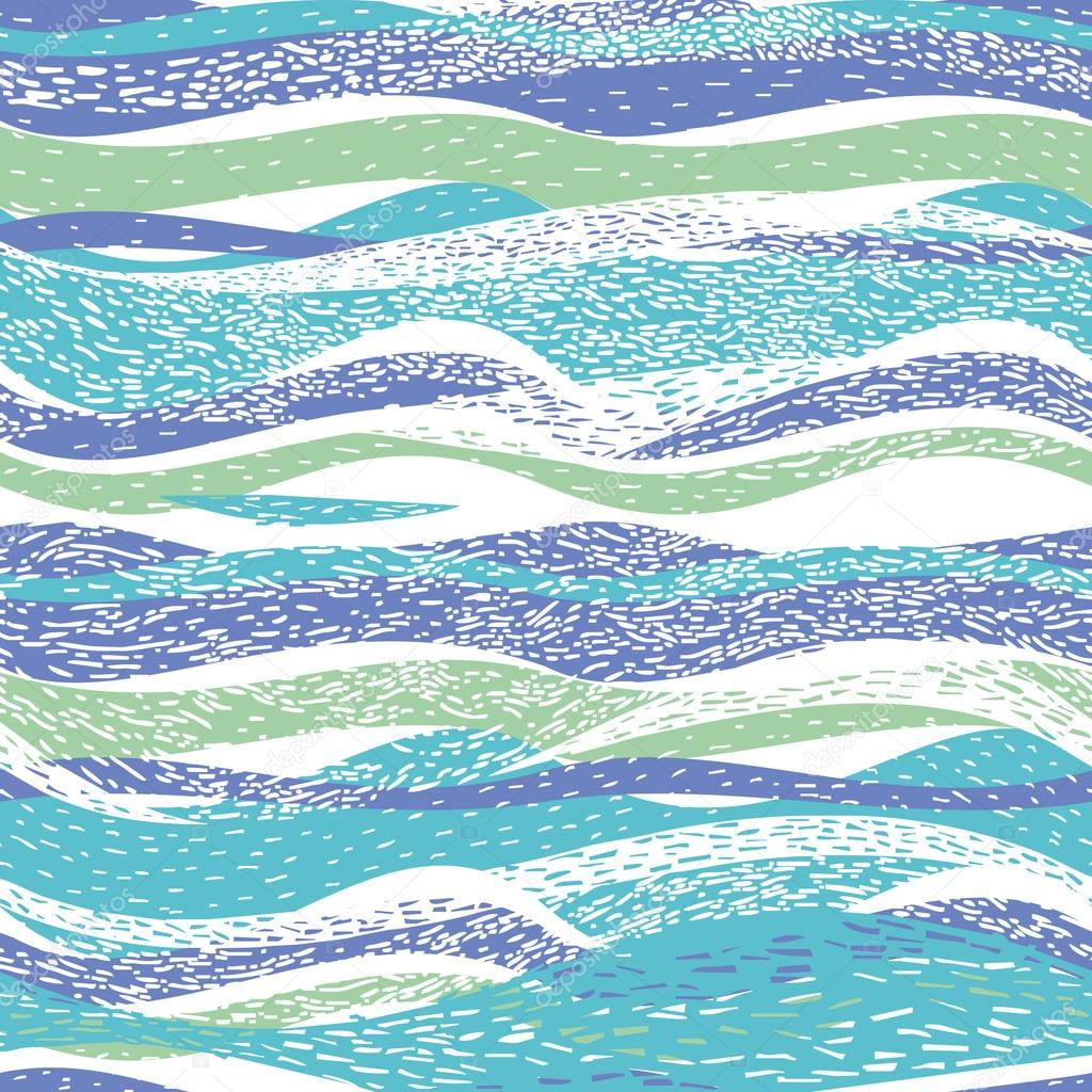 Abstract pattern with waves