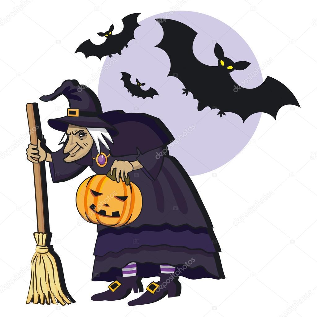 老巫婆 — 图库矢量图像 irmairma