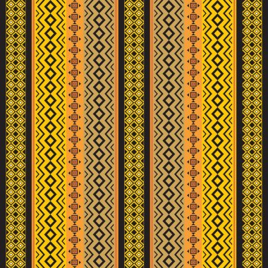 African traditional ornamental fabric texture