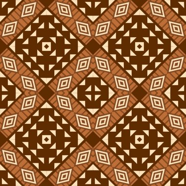 African style textile pattern