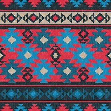 Ethnic carpet pattern