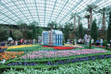 Tulip Mania, Gardens by the Bay