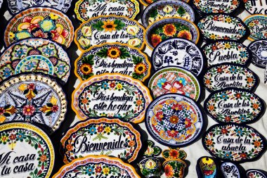 Mexican souvenirs on sale
