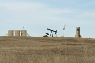 Oil Well in North Dakota