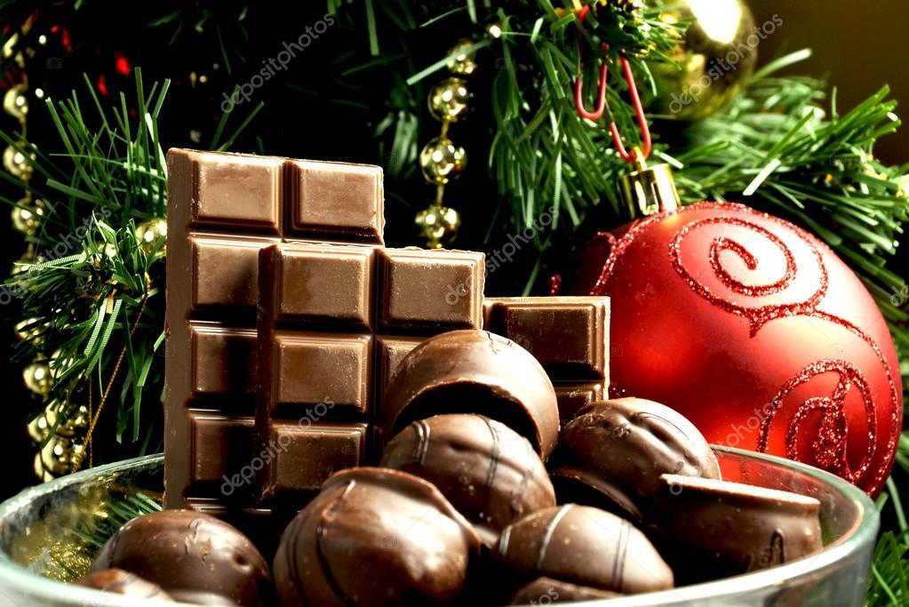 Süßigkeiten Weihnachten Schokolade Neujahr Geschmack Schokolade ...