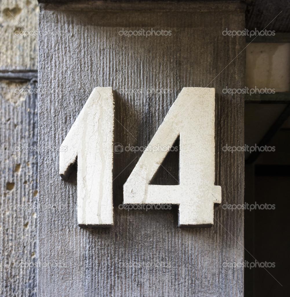 number 14  u2014 stock photo  u00a9 papparaffie  38240551