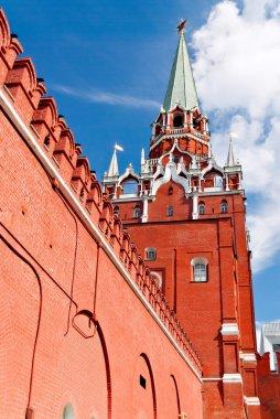 Troitskaya Tower of Moscow Kremlin