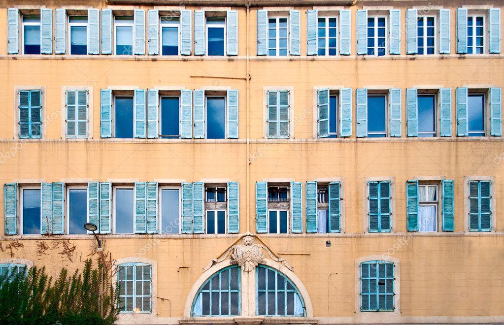 Französische Fenster französische fenster — stockfoto © wastesoul #18340605