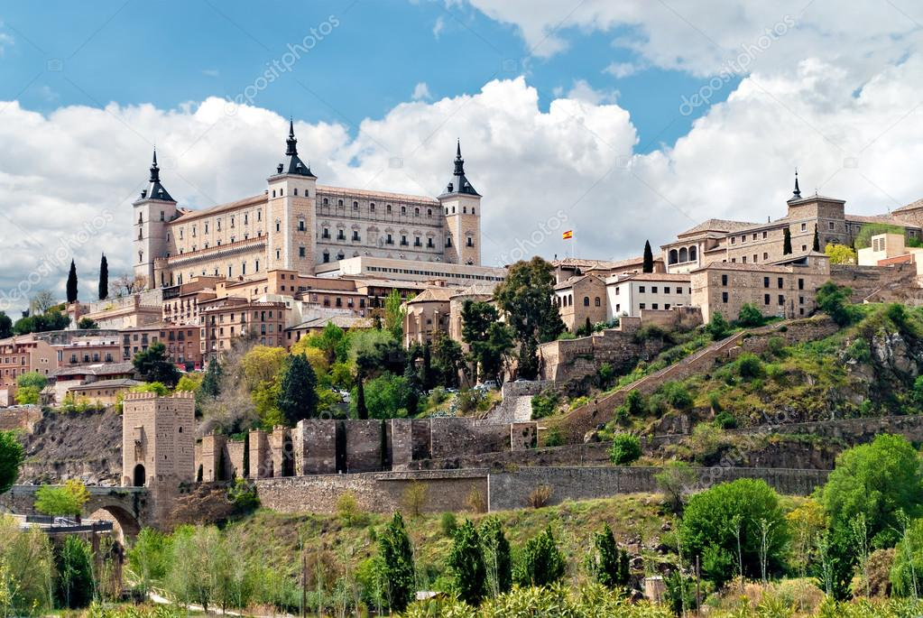 Фотообои Old town of Toledo