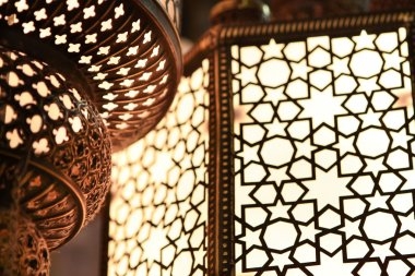 Arabic light - close up