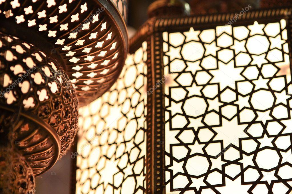 Arabic light - close up
