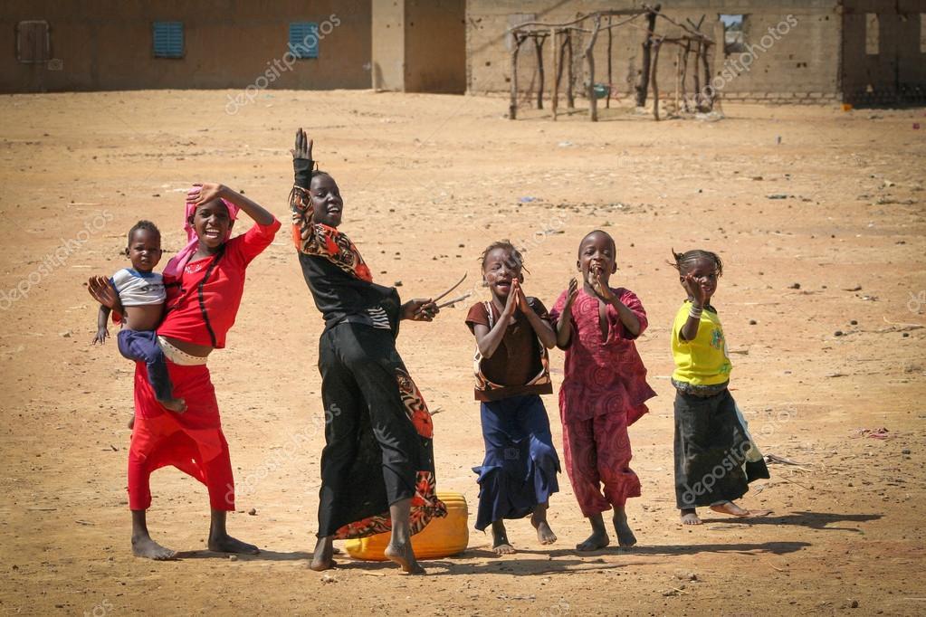 Senegal girls greeting stock editorial photo klemsy 25828441 senegal girls greeting stock photo m4hsunfo