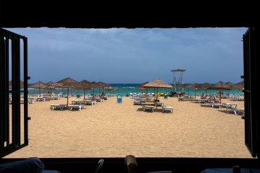 Beach in Famagusta, Cyprus