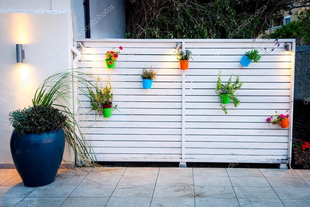 d coration de mur ext rieur fleur minimaliste photographie klemsy 51310211. Black Bedroom Furniture Sets. Home Design Ideas