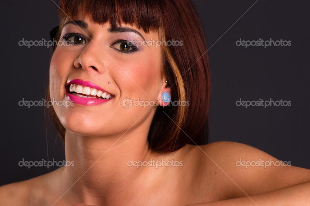 Schöne haarige nackte Rothaarige Frauen