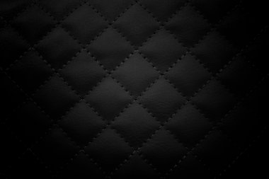Black leather background,