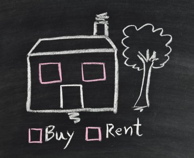 buy or rent house on blackboard