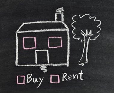 buy or rent house on blackboard