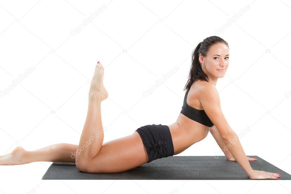 Sexy yoga photo