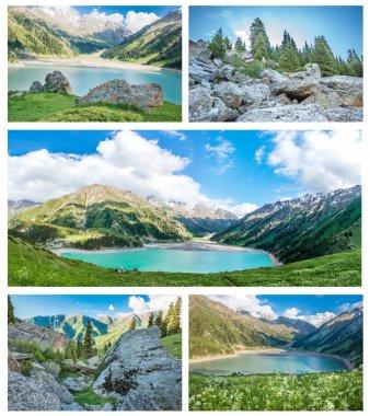 Big Almaty Lake , Kazakhstan