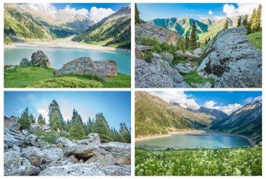 Big Almaty Lake ,Kazakhstan
