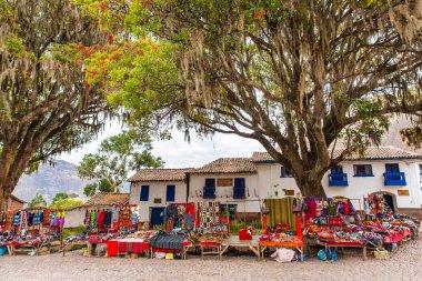 Street shop in Peru, South America