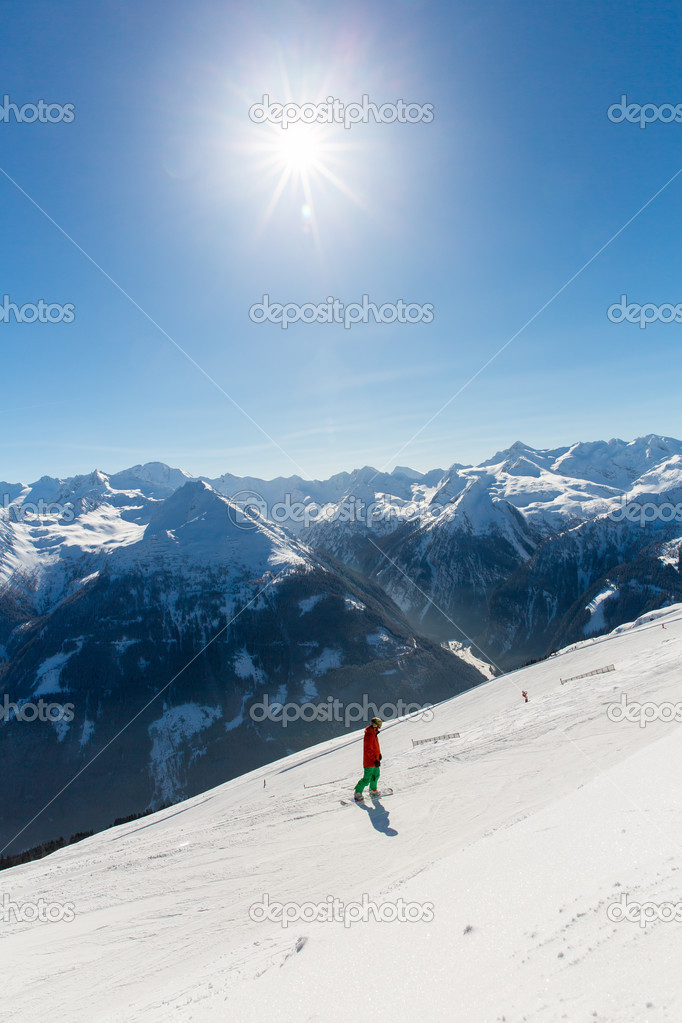 Ski resort Bad Gastein in Austria