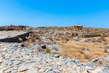 Gramvousa island in Crete, Greece