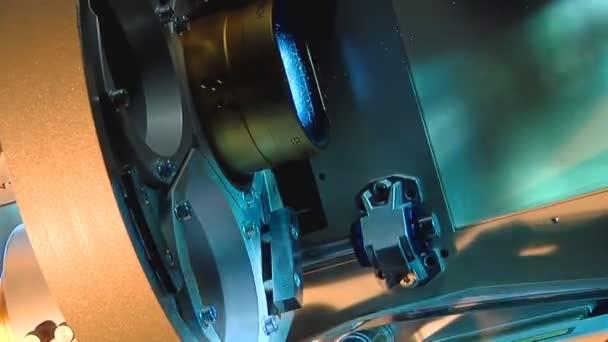 Close-up of 35mm act bobbin (pan - artificial)