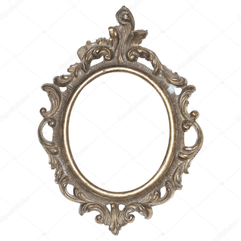 bonito marco de metal, antiguo — Fotos de Stock © piolka #12404969