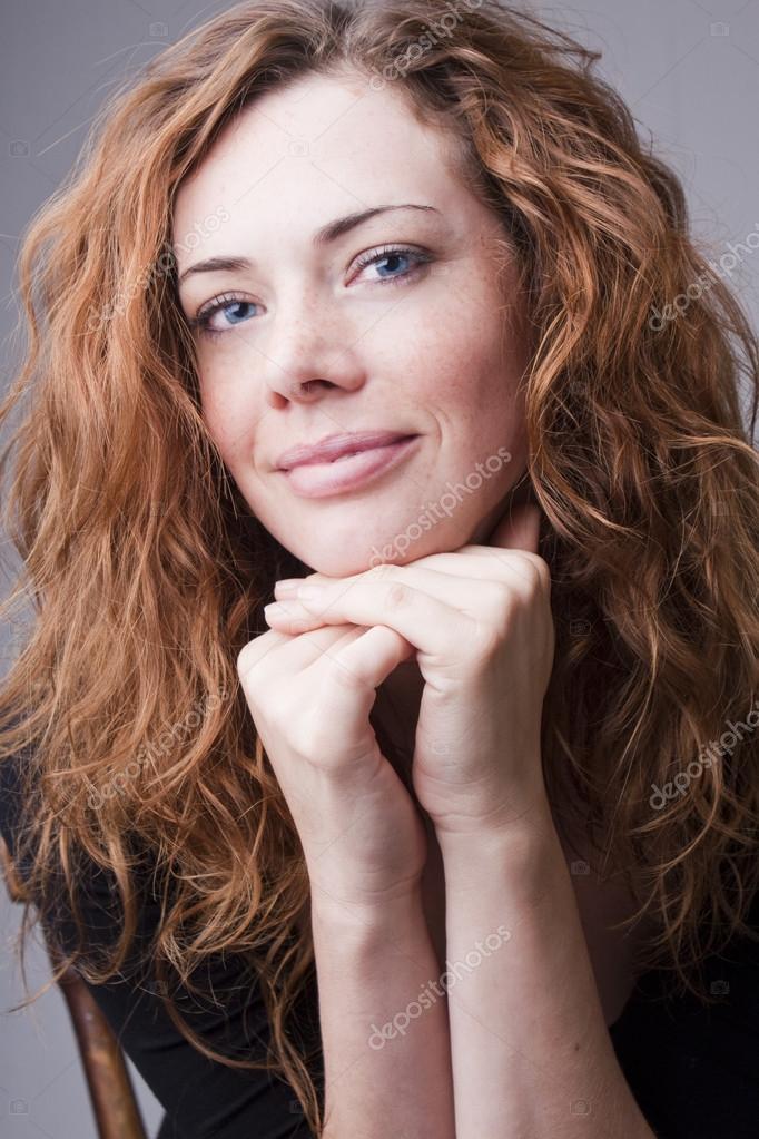 Young natural woman