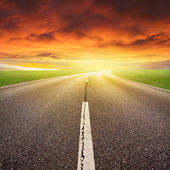 Fotografia  autostrada