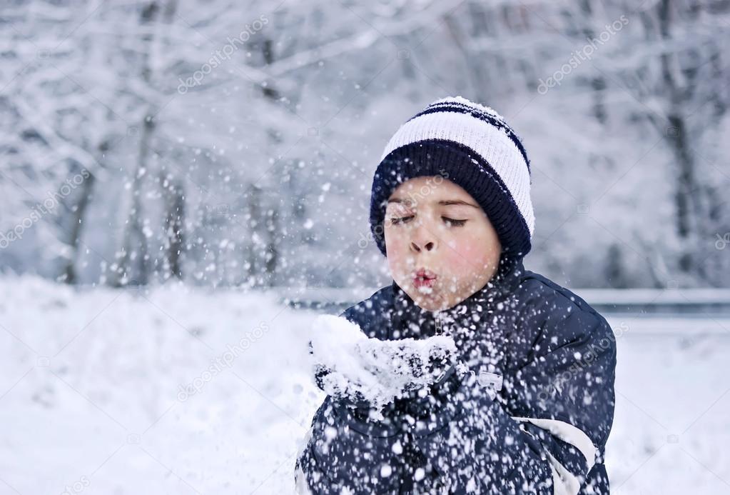 Children snow wishes
