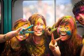 holi festival barev v Malajsii