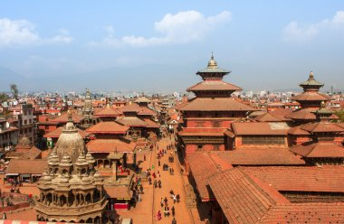 Durbar Square in Kathmandu, Nepal.