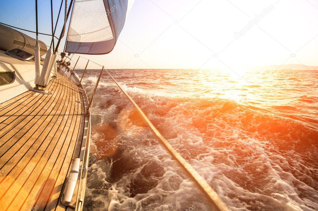 Yacht di lusso .